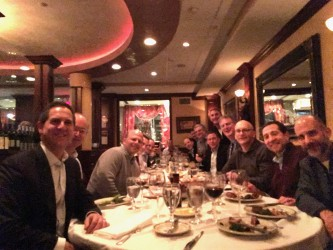 NYC '80s Alumni Get Together for Annual Dinner